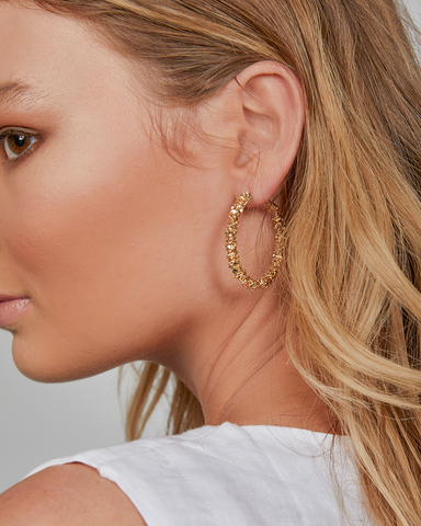 BILLINI | ANGIE HOOP EARRING - GOLD |  |EARRINGS