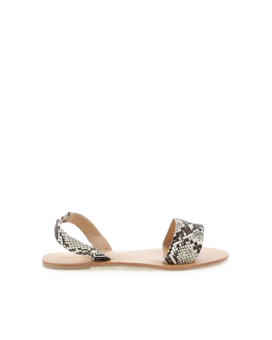 BILLINI | ARAYA - CREAM SNAKE | 25.00 |Sandals