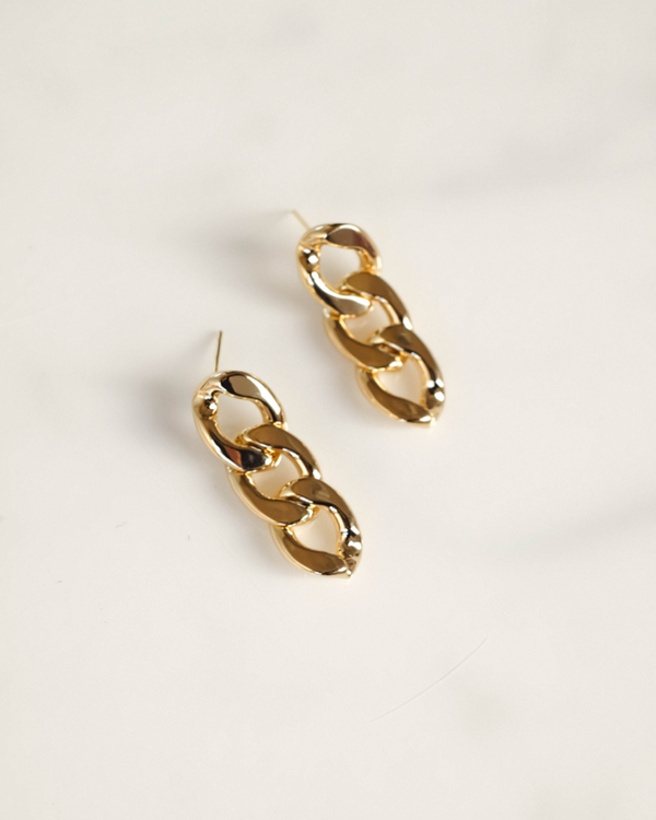 ATHENS DROP EARRING - GOLD