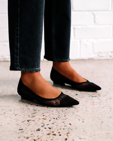 CARRIE - BLACK SUEDE
