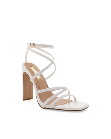 DEMI - WHITE SCALE-Heels-Billini-Billini