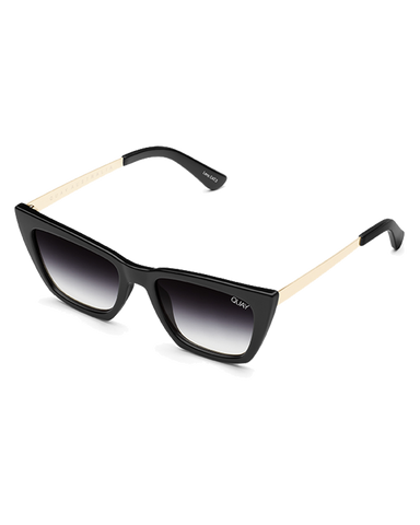 BILLINI | DONT AT ME SUNGLASSES - BLACK/BLACK FADE LENS |  |SUNGLASSES