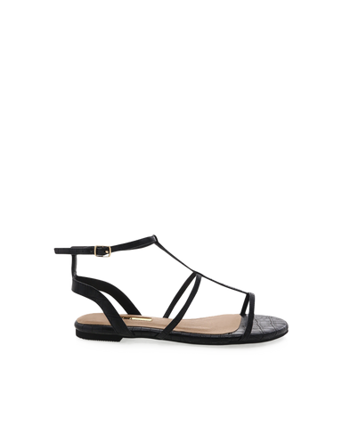 BILLINI | DREE - BLACK CROC | 79.95 |Sandals