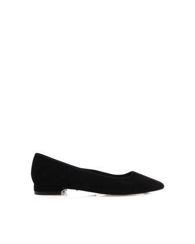 BILLINI | FRANNIE - BLACK SUEDE | 59.95 |Flats