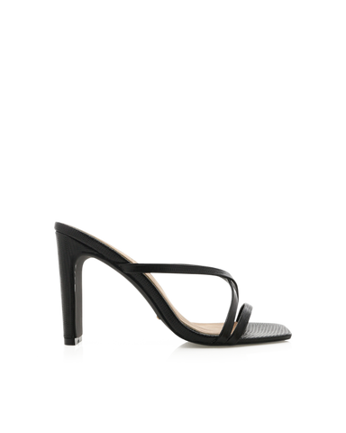 GUINEVERE - BLACK SCALE-Heels-Billini-Billini