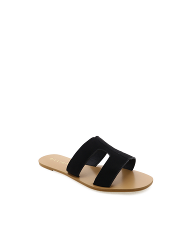 BILLINI | HAMPTON - BLACK NUBUCK | 59.95 |Sandals