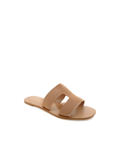 BILLINI | HAMPTON - CAMEL NUBUCK | 59.95 |Sandals