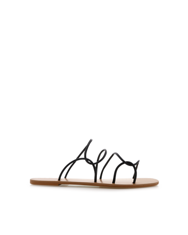 HANSEL - BLACK-Sandals-Billini-Billini