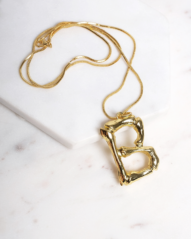 BILLINI | INITIAL NECKLACE - GOLD | 20.00 |NECKLACES