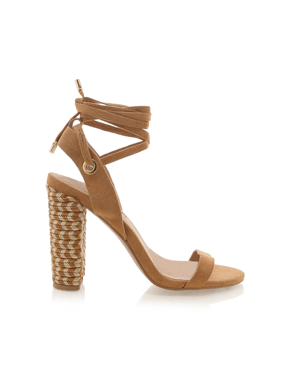 JENNER - LIGHT TAN SUEDE