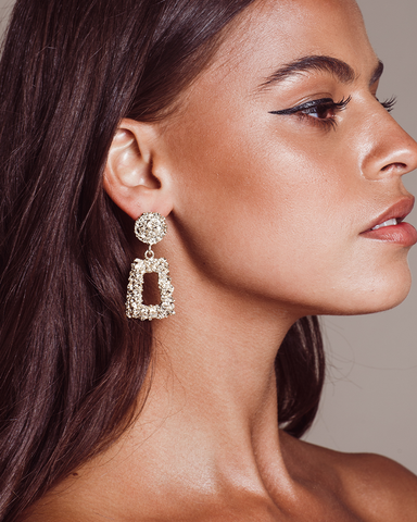 KENZIE - GOLD-EARRINGS-Billini-O/S-Billini