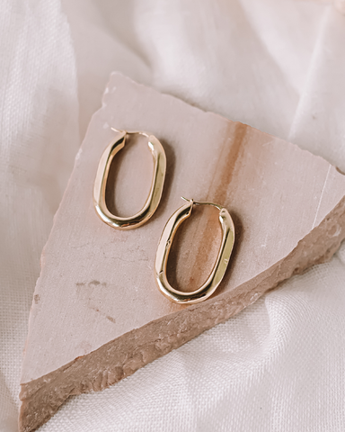 LOU EARRINGS - GOLD-EARRINGS-Billini-O/S-Billini