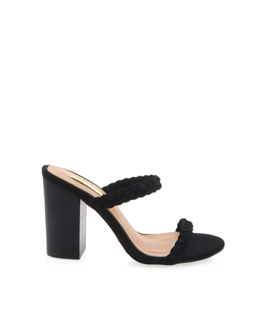 BILLINI | NIXIE - BLACK NUBUCK | 89.95 |Heels