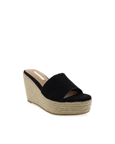 BILLINI | PENNY - BLACK SUEDE | 89.95 |Wedges