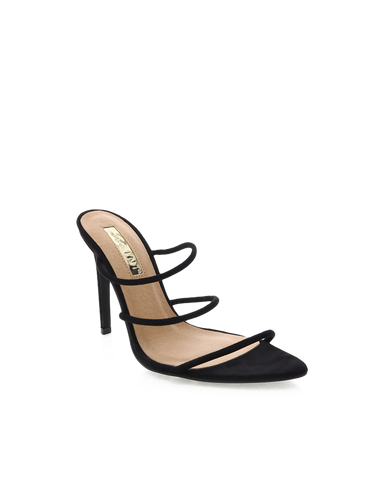 BILLINI | PRESTON - BLACK SUEDE | 89.95 |Heels