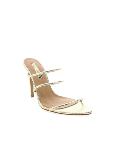 BILLINI | PRESTON - GOLD CRACKED METALLIC | 89.95 |Heels