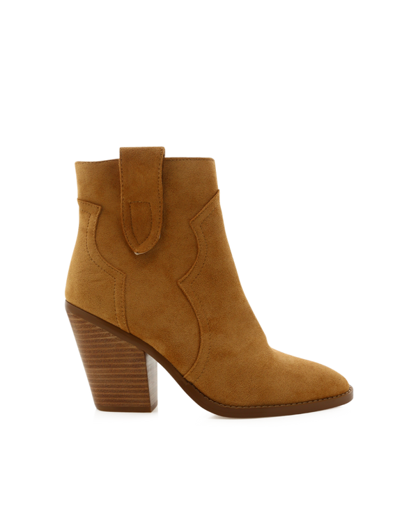 QUELA - LIGHT TAN SUEDE