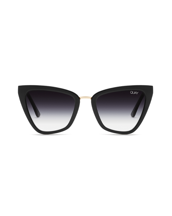 REINA MINI SUNGLASSES - BLACK/BLACK FADE LENS