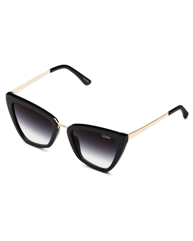 BILLINI | REINA MINI SUNGLASSES - BLACK/BLACK FADE LENS |  |SUNGLASSES