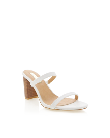 BILLINI | RUMER - WHITE PEBBLE | 89.95 |Heels