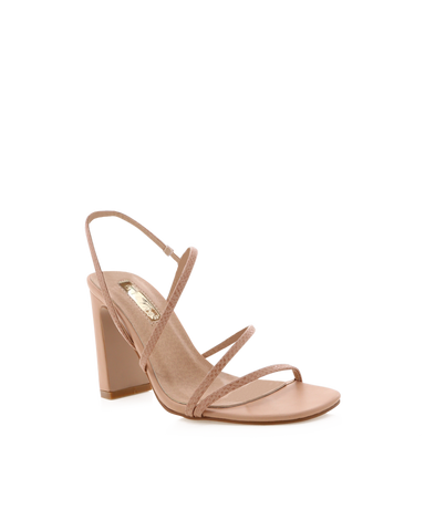 SAINT - BLUSH LIZARD-Heels-Billini-Billini