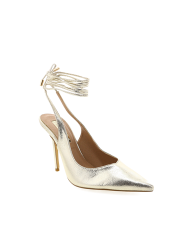BILLINI | SASS - GOLD CRACKED METALLIC | 99.95 |Heels