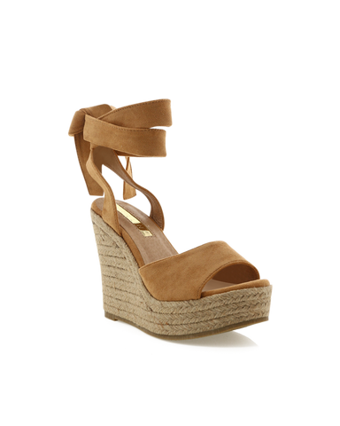 SKYROS - LIGHT TAN SUEDE
