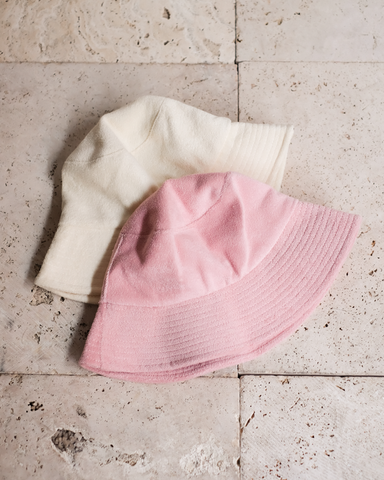 SUNNY DAYS BUCKET HAT - CREAM TERRY-HATS-Billini-O/S-Billini