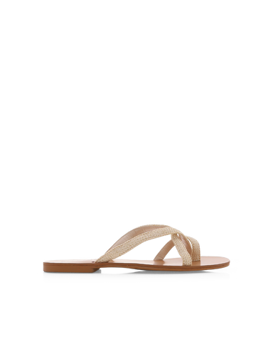 TROPIC - CREAM RAFFIA-Sandals-Billini-Billini