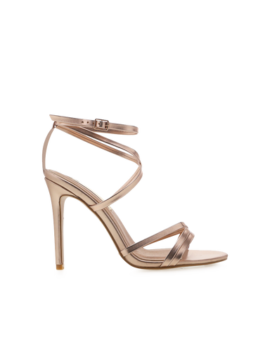 BILLINI | TULUM - ROSE GOLD METALLIC | 45.00 |Heels
