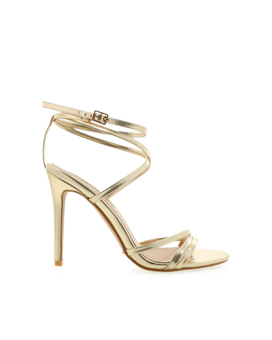 BILLINI | TULUM - LIGHT GOLD METALLIC | 89.95 |Heels