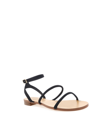 BILLINI | URIEL - BLACK NUBUCK | 69.95 |Sandals