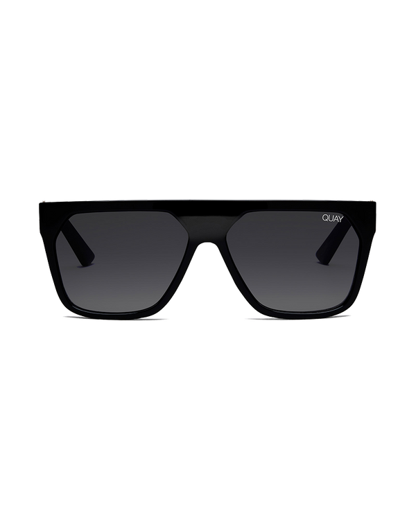 VERY BUSY SUNGLASSES - BLACK/SMOKE FADE LENS