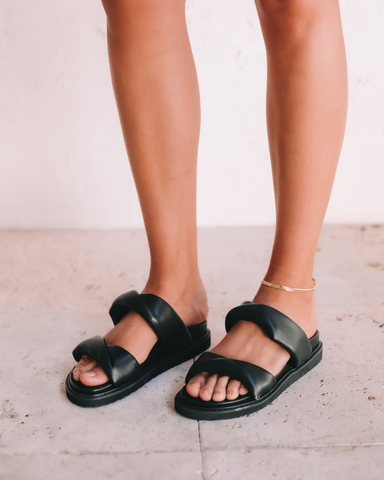 ZONYA - BLACK-Sandals-Billini-Billini