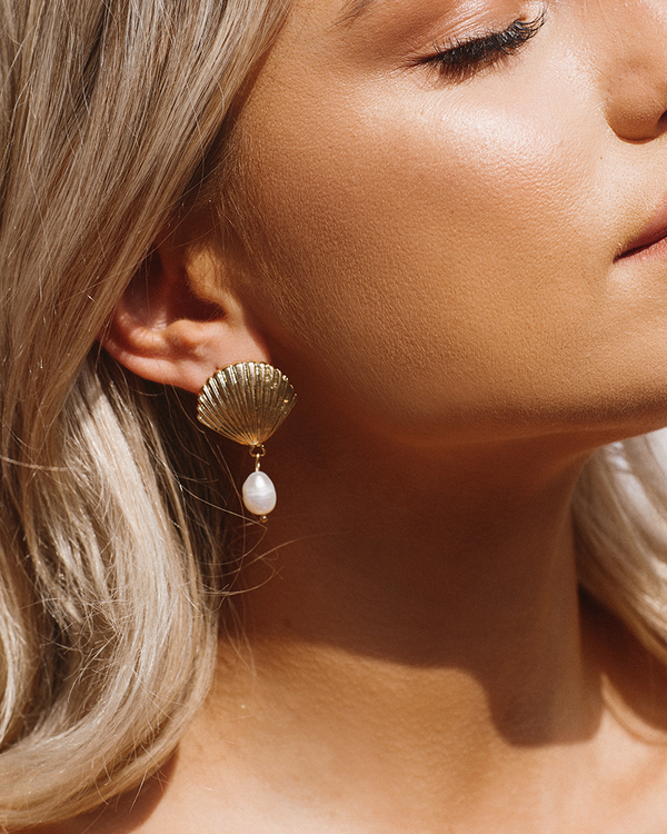 ADELLA DROP EARRING - GOLD
