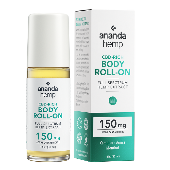 Ananda Hemp Full Spectrum Roll On 150mg