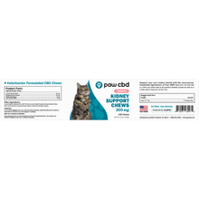 Load image into Gallery viewer, cbdMD CBD Kidney Support Soft Chews for Cats - Salmon