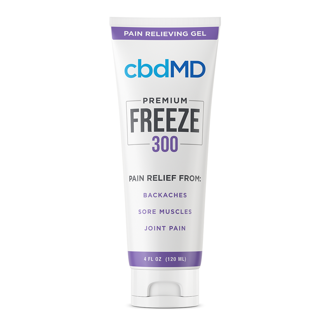 cbdMD CBD Freeze Pain Relief Gel Squeeze 300mg