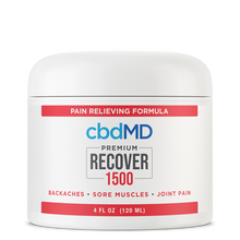 Load image into Gallery viewer, cbdMD CBD Recover - Inflammation Formula - 1500mg - Tub