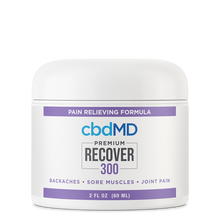 Load image into Gallery viewer, cbdMD CBD Recover Inflammation Formula - 300mg - Tub
