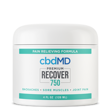 Load image into Gallery viewer, cbdMD CBD Recover Inflammation Formula - 750mg - Tub