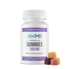 Load image into Gallery viewer, cbdMD CBD Gummies 30 Count 300mg