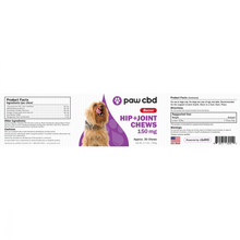 Load image into Gallery viewer, cbdMD Pet CBD Hip & Joint Soft Chews for Dogs - Bacon