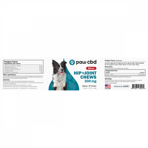 cbdMD Pet CBD Hip & Joint Soft Chews for Dogs - Bacon