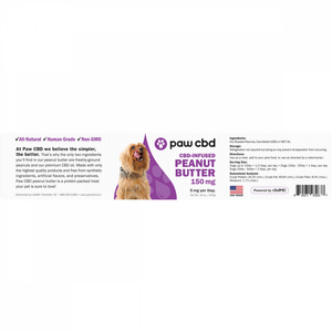 cbdMD Pet CBD Peanut Butter for Dogs