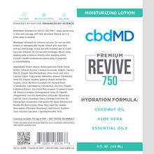 Load image into Gallery viewer, cbdMD CBD Revive Moisturizing Lotion 750mg