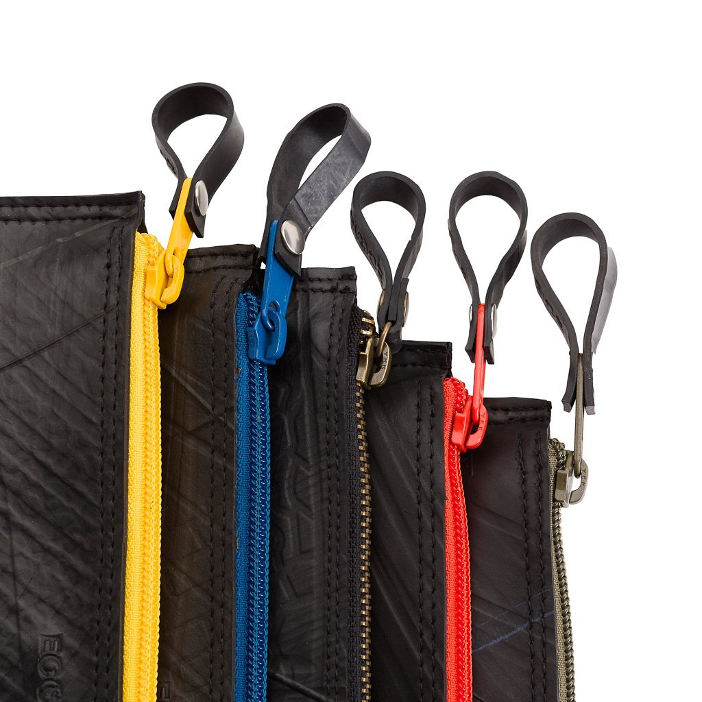 Paguro Lewis colorful zip pouches