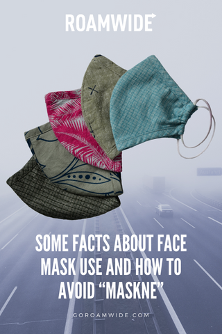"Blog ""Some facts about face mask use and how to avoid ""maskne"""""