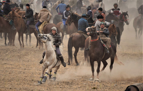 Game of Ulak in Kyrgyzstan