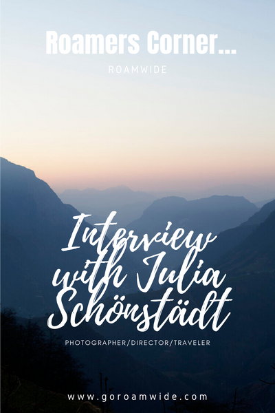 Pin this! Roamwide Interview with Julia Schönstädt
